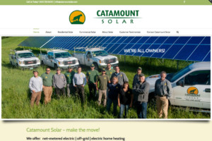 Catamount Solar website