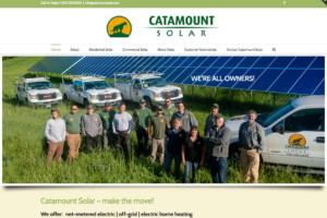 Catamount Solar website