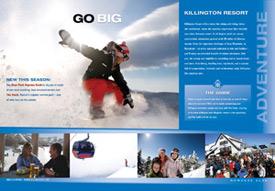 Inside spread from Killington brochure