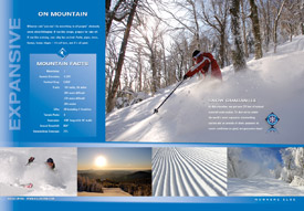 Inside spread from Killington brochure