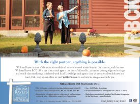 Print ad for WR BCK Real Estate